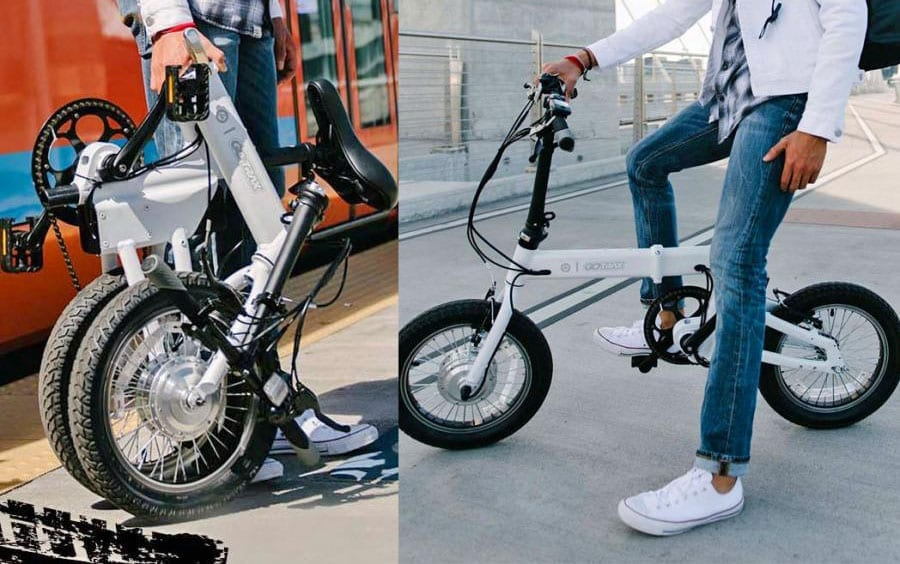 folding electric bikes are ideal for travel