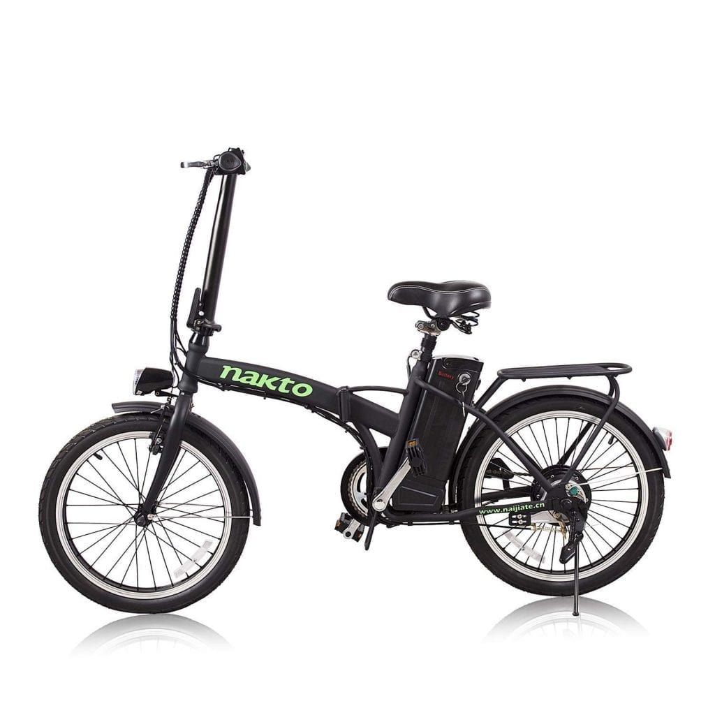 NAKTO Adult Electric Bicycles 26 inch Review