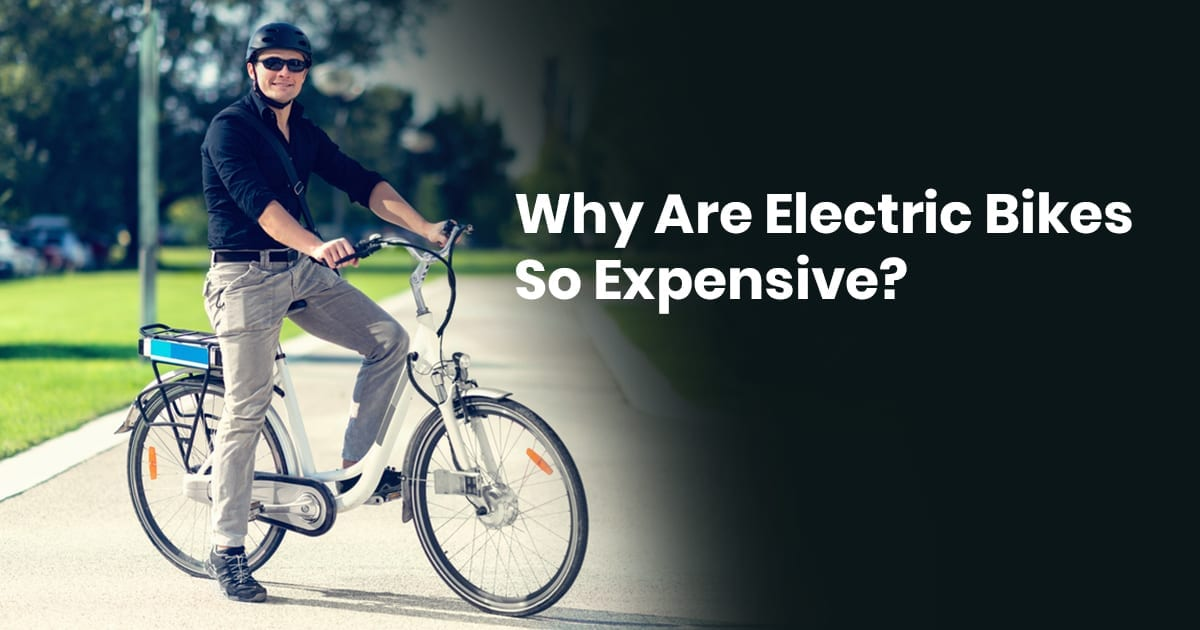 Why Are Electric Bikes So Expensive