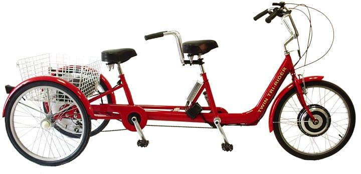 Belize Bike Twin Tri-Rider Tandem Trike