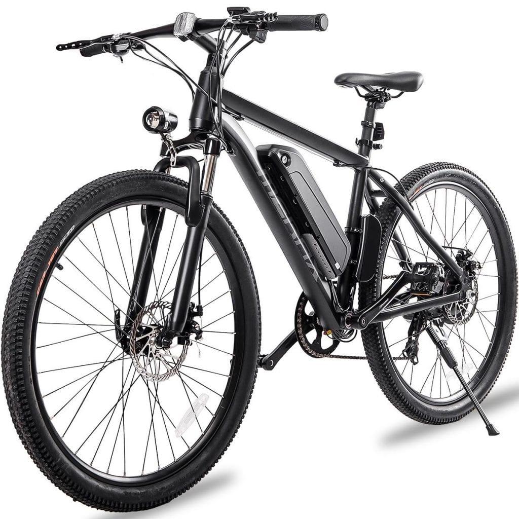 "Merax 26"" Aluminum Electric Mountain Bike 7 Speed E-Bike"