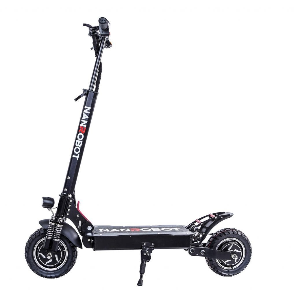 NANROBOT D4+ Pro High Speed Electric Scooter-10 inch Tires
