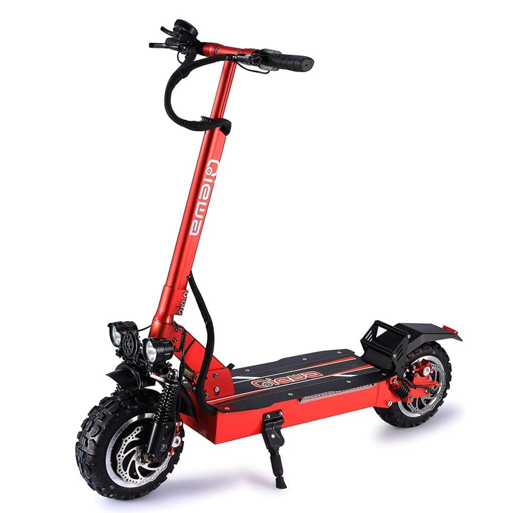 QIEWA QPOWER Duble Motors Off Road Scooter