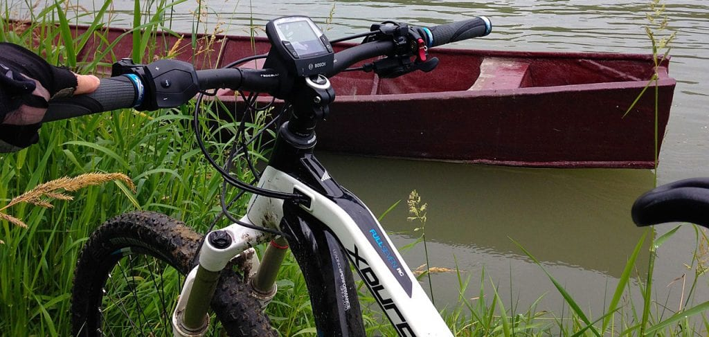 best cheap electric bike by a river