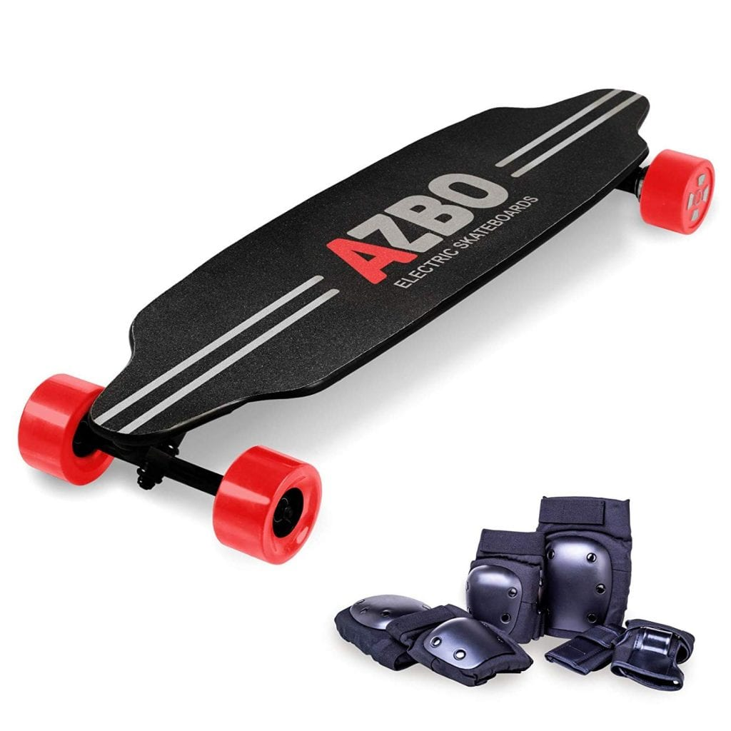 Electric Skateboard Longboard with Remote Control by AZBO