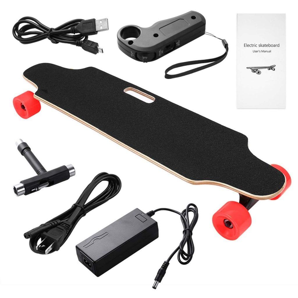 Miageek Electric Skateboard Electronic Longboard 20 KM_H Top Speed