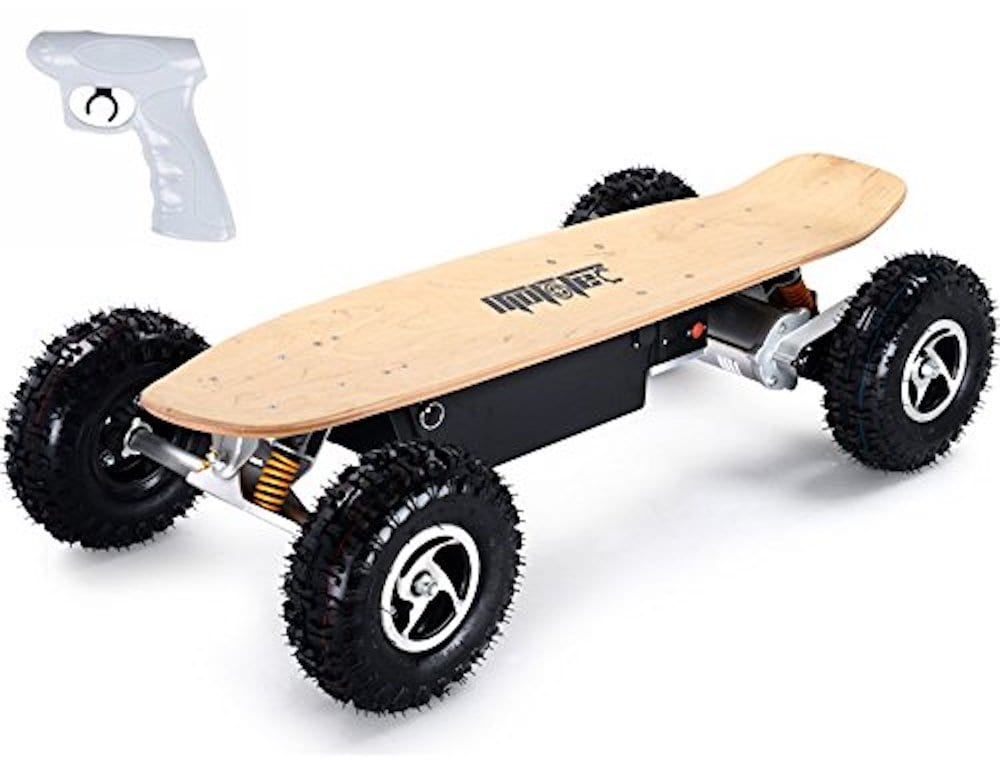 MotoTec 1600W Dirt Electric Skateboard Dual Motor