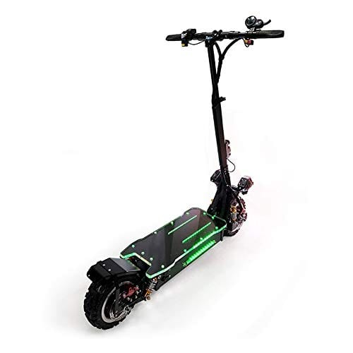 OUTSTORM 56MPH Ultra High Speed Electric Scooter for Adults Foldable