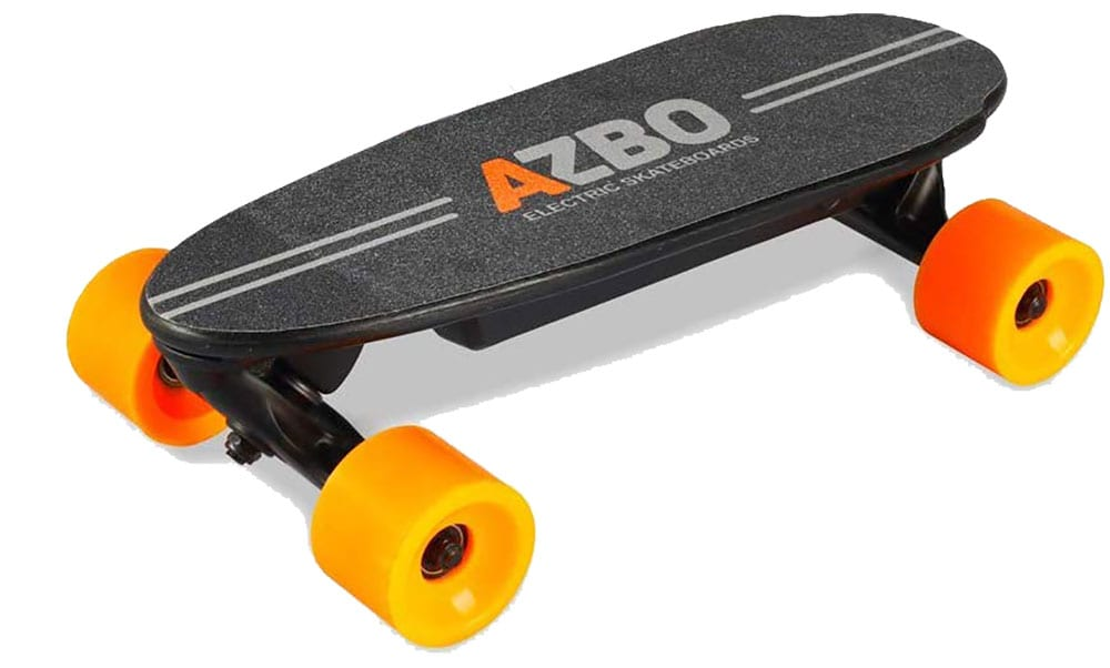 Portable Mini Electric Skateboard with Remote Control by AZBO