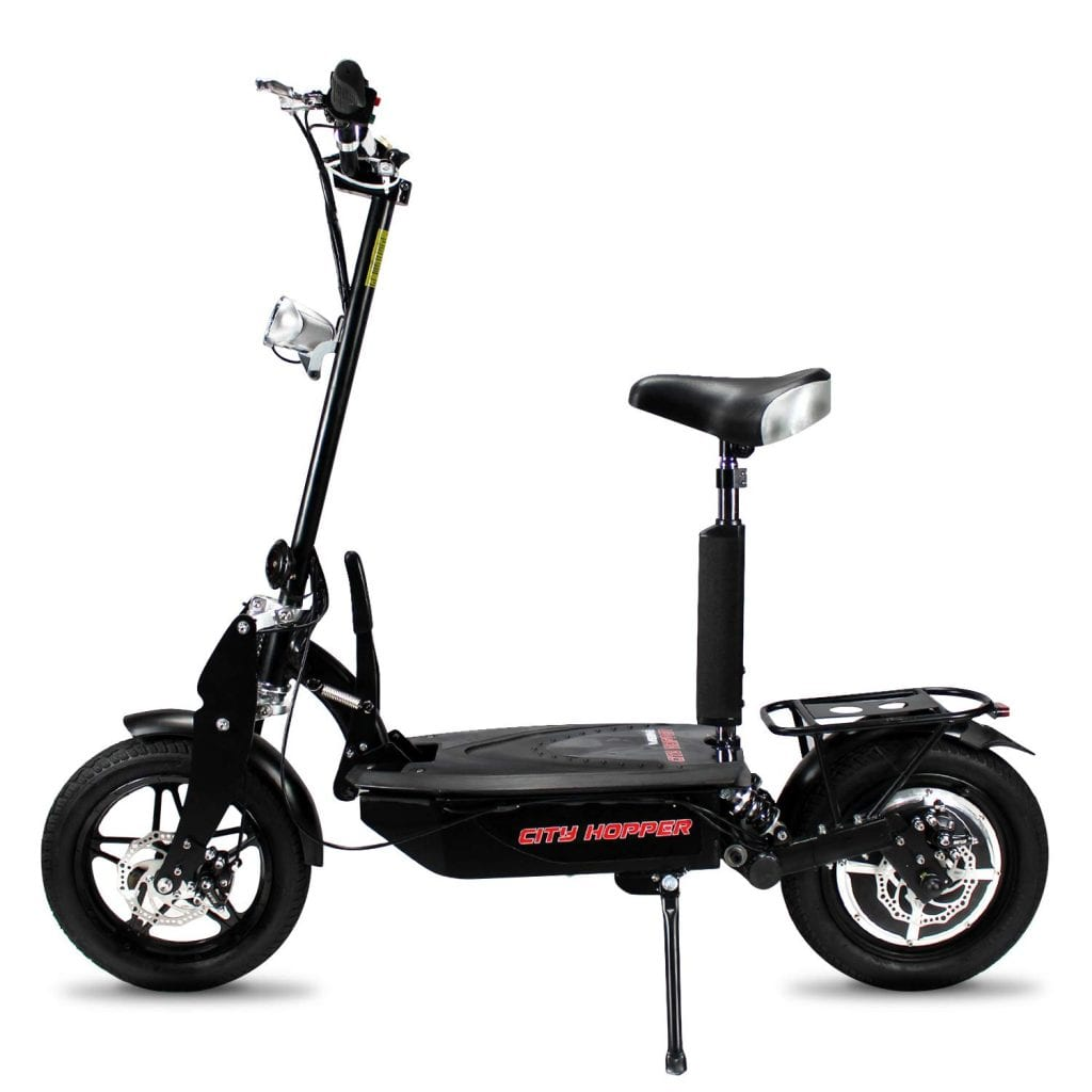 Rassine Electric Scooter with Large Wheels