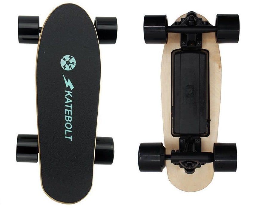 SKATEBOLT Electric Skateboard Mini Fashion Gift S5 Motorized Skateboard with Remote Control