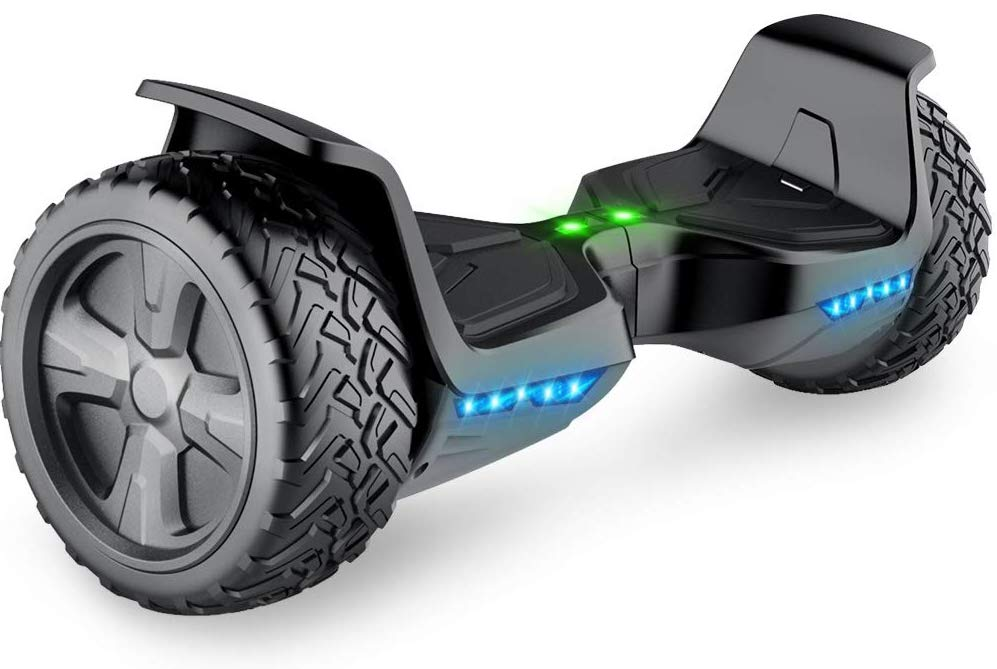 TOMOLOO Hoverboard with Bluetooth Speaker UL2272 Certified Self Balancing Electric Scooter