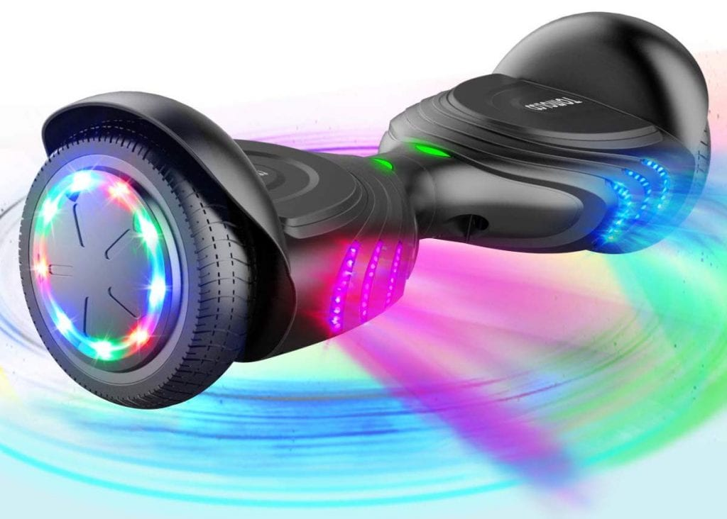 TOMOLOO Music-Rhythmed Hover Board for Kids