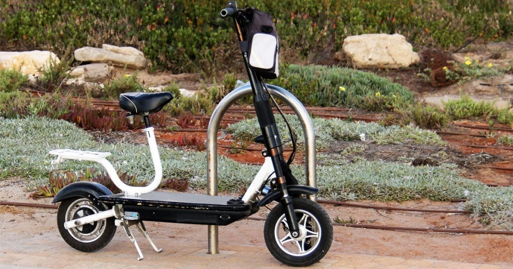best eletric scooter with seat header