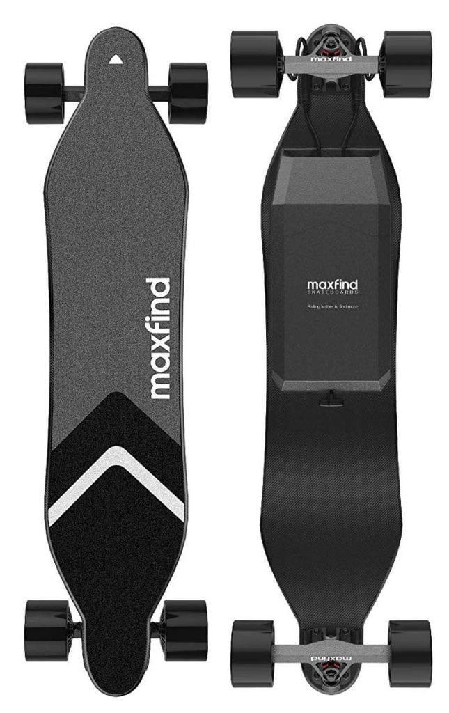 maxfind Max-4 Electric Skateboard Electric Longboard with Remote Control