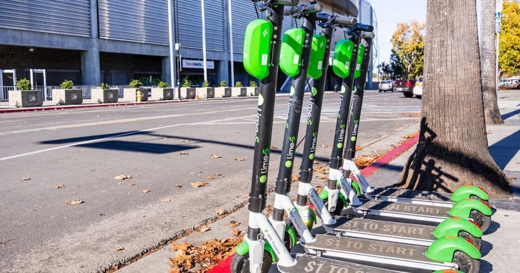 scooter share companies header