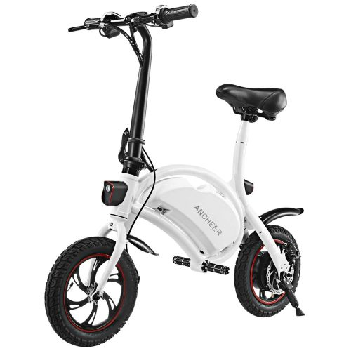 ANCHEER Folding Electric Bicycle-E-Bike-Scooter 350W