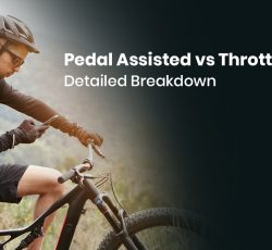 Pedal Assisted vs Throttle eBike- Detailed Breakdown